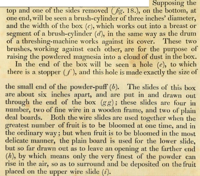 from The Gardener's Magazine, September 1827, pp.36-7