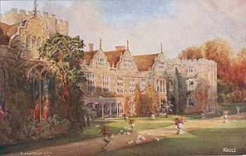 Knole by C. Essenhigh Corke Publisher: J. Salmon, Sevenoaks, England