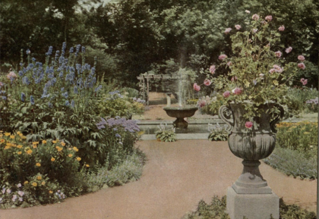 High Summer in the Garden, from Round the Year