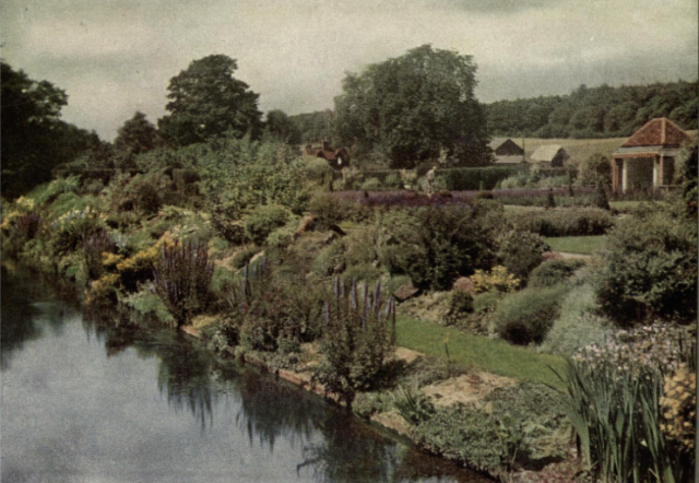In the Garden at Woodside, Chenies, from Round the Year