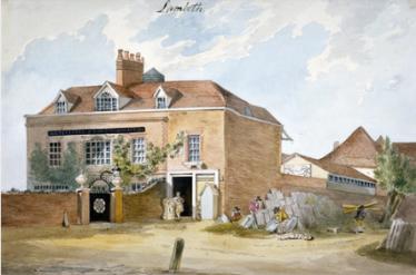 Coade stone factory, Narrow Wall, Lambeth, London, c.1790s Anonymous