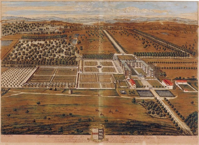Leonard Knyff (1650-1722) Artist / EngraverJohannes Kip (1653-1722) Title Temple Newsam, the Seat of the Rt. Hon. Lord Ingram Title Publication Title Britannia Illustrata Date published 1707