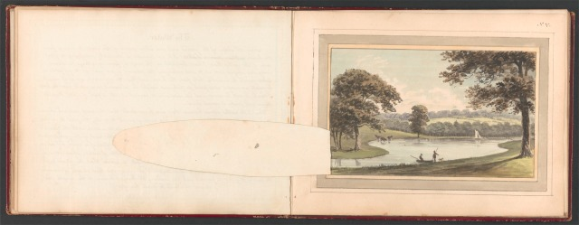 Repton, Humphry, 1752-1818. Vinters in Kent, a seat of James Whatman Esqr., 1797. folios 14v-15r (overlay down), http://collections.britishart.yale.edu/vufind/Record/2038962