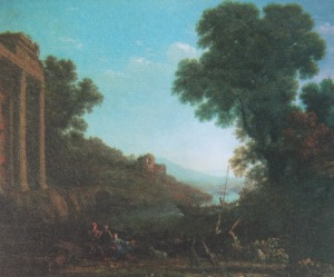 Pastoral Landscape, Claude Lorraine, Haiifax Collection