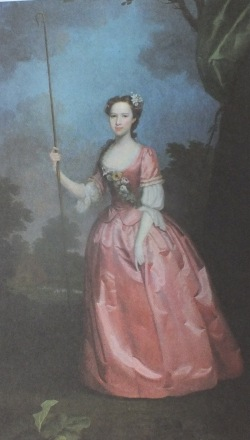 Frances, Viscountess Irwin, by Benjamin Wilson, Halifax Collection.