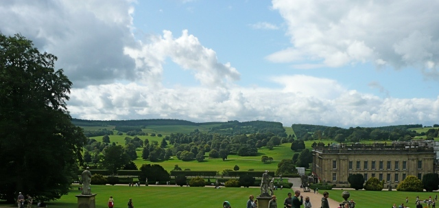 The Chatsworth landscape, photo by Austenonly at https://austenonly.com/2011/03/10/book-review-the-omnipotent-magician-lancelot-capability-brown-by-jane-brown/