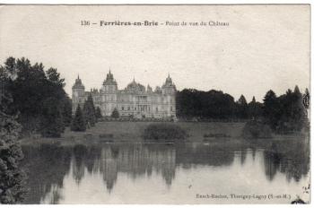 from http://chateauxdefrance.centerblog.net/6582857-CHATEAU-DE-FERRIERES-EN-BRIE