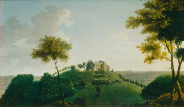 Thomas Bardwell (1704-1767) TitleStainborough Castle, Folly in the Grounds of Wentworth Castle Date 1745 Government Art Collection http://www.gac.culture.gov.uk/work.aspx?obj=11156