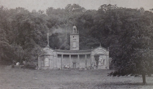 Rockley Woodhouse pavilion, image from the guidebook
