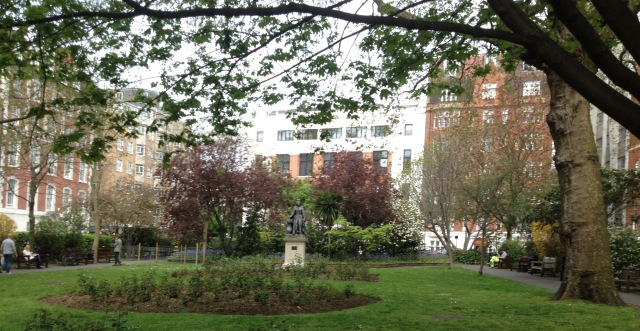 Queen Square, David Marsh, May 2016