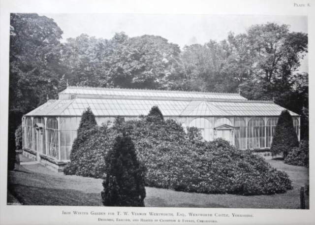 Horticultural buildings and their fittings : by Crompton & Fawkes, Chelmsford, 1899