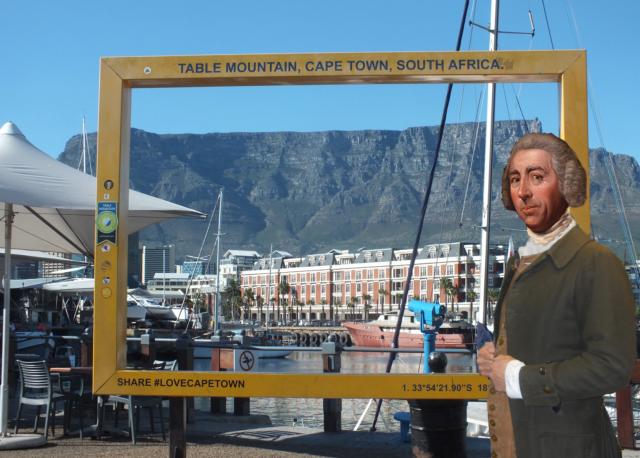 Lancelot in Cape Town photo courtesy of Nicholas marsh