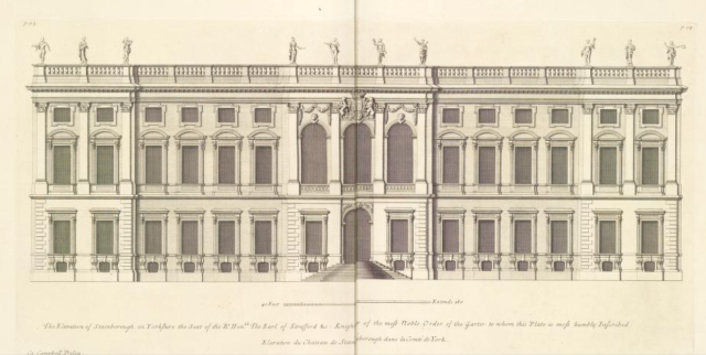 Stainborough, from Vitruvius Britannicus, 1715 https://archive.org/details/gri_33125008447647