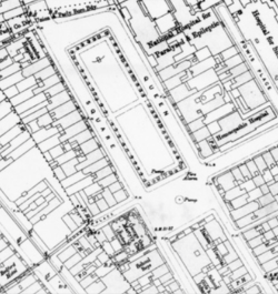 detail from the 1896 OS map
