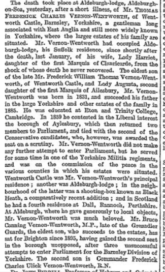 The Times, 2nd Jan 1902