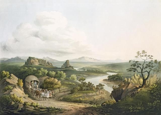 Henry Salt A View near the Roode Sand Pass at the Cape of Good Hope, GAC, published 1809