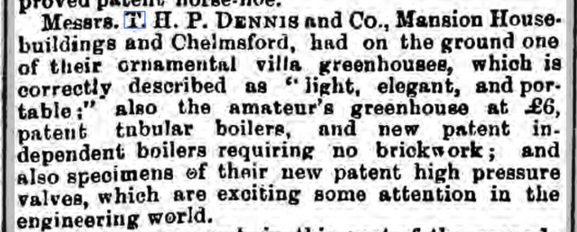 Chelmsford Chronicle 3 July 1874