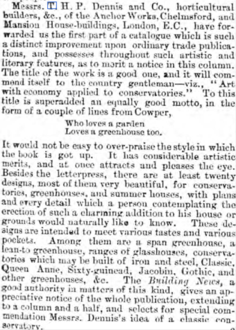 Chelmsford Chronicle 13 June 1879