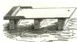 The Hammersmith Bumblepuppy table from West London Sketcher & Recorder in 1889