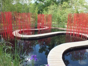 Square and Round a contemporary Chinese Garden designed by