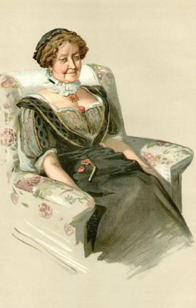 Lady Dorothy, by K Vanity Fair, 6 November 1912.