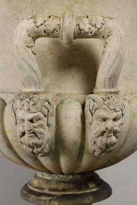 Campana Terracotta Garden Urn arabesqueantiques.co.uk