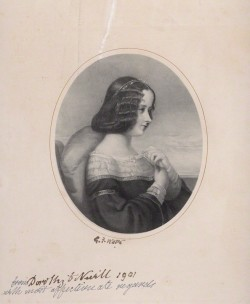 after George Frederic Watts, lithograph, (1844) National Portrait Gallery
