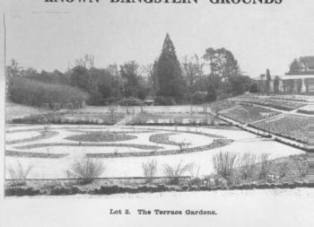 Dangstein, Sussex, Sunken Terrace Gardens 1926 Sale ParticularsPGDS 1932