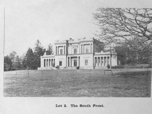 Dangstein, Sussex. South Front of House demolished 1926from our database Copyright: West Sussex Record Office