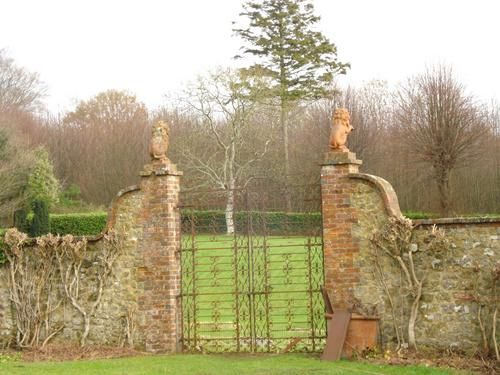 The Gates to the Parterre, 2007. Sussex Gardens Trust