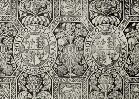 Black and white paper from Besford Court, although it has been found elsewhere. c.1550-70 V&A