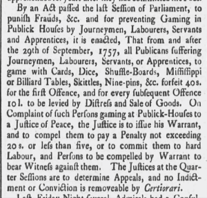 Derby Mercury - Friday 05 August 1757