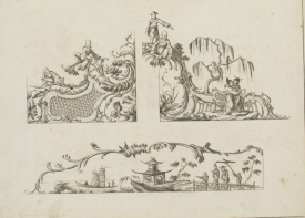 from Matthias Darley, A New Book of Chinese Designs Calculated to Improve the present Taste etc. 1754