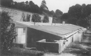 The Pits as they were c.1988 from Trotter, 'The glasshouses at Dangstein' full ref below