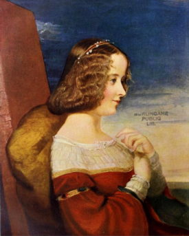 Lady Dorothy Fanny Nevill (nee Walpole), 1844, (1902). Artist: George Frederick Watts, from The Connoisseur, vol.2, 1902