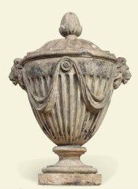 A GEORGE III ARTIFICIAL 'COADE' STONE URN FINIAL BY CROGGAN, DATED 1817, A GEORGE III ARTIFICIAL 'COADE' STONE URN FINIAL BY CROGGAN, DATED 1817. A GEORGE III ARTIFICIAL 'COADE' STONE URN FINIAL BY CROGGAN, DATED 1817. http://www.christies.com/LotFinder/lot_details.aspx?intObjectID=5825696