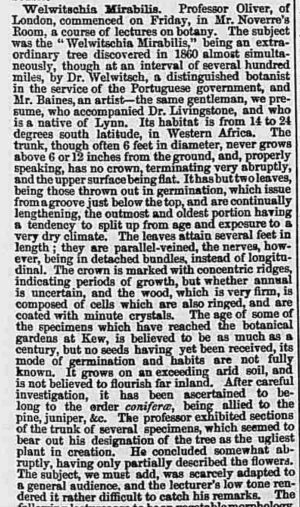 Saturday 31 January 1863 ,  Norfolk News ,  Norfolk, England