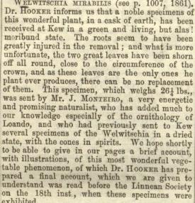 Gardener's Chronicle 20th DEc 1862