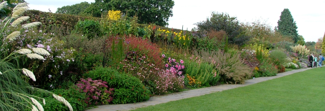 The Herbaceous Border, Wisley, David Marsh, Sept 2007