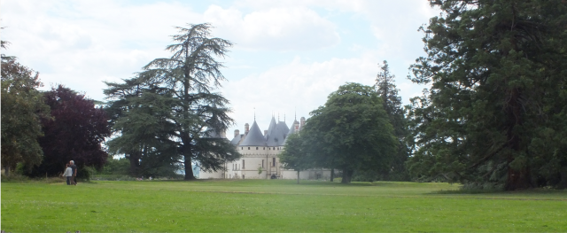 The parc anglais at the Chateau at Chaumont-sur-Loire, David Marsh, July 2016