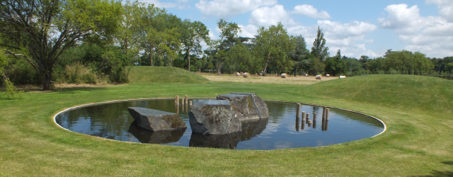 Archipelago, a contemporay Japanese garden designed by Shodo Suzuki, David Marsh, July 2013