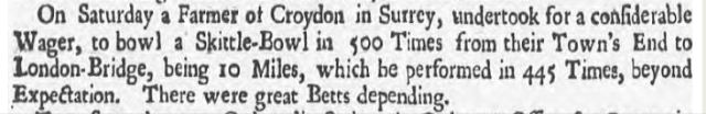 Derby Mercury - Thursday 16 August 1739