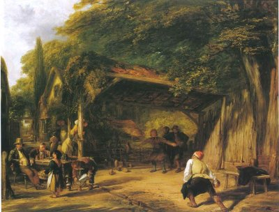 The Skittle Players , William Collins, 1832