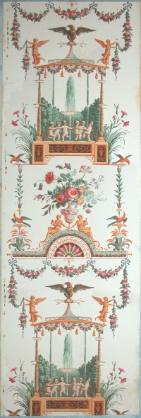 Wallpaper printed by Reveillon, 1785 http://www.museum-kassel.de/index_navi.php?parent=1600