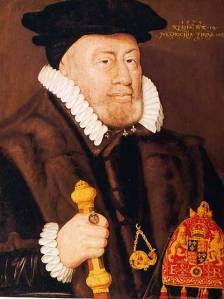 Lord Keeper, Sir Nicholas bacon, Sir Nicholas Bacon by Unknown artist oil on panel, inscribed 1579. NPG
