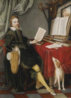 Bone, Henry Pierce; Nathaniel Bacon (1585-1627), Painter; Trinity College, University of Cambridge; http://www.artuk.org/artworks/nathaniel-bacon-15851627-painter-134668