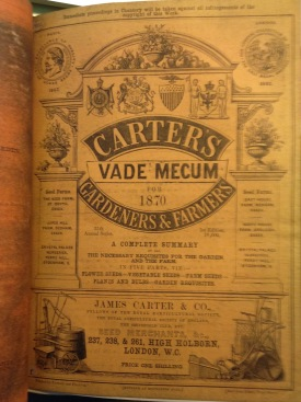 The Gardeners Vade Mecum, 1870