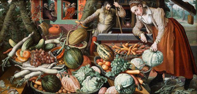 Market Scene, Pieter Aertsen, Hallwyl Museum, Switzerland