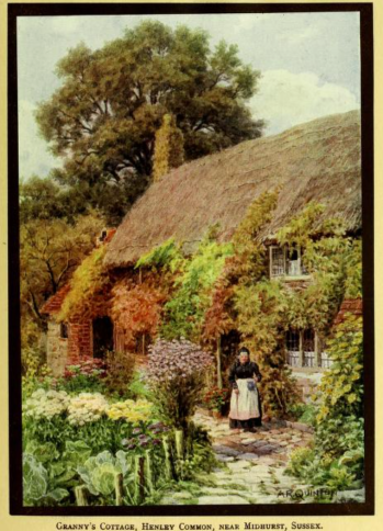 from Cottages of England etc by PH Ditchfeild, 1910