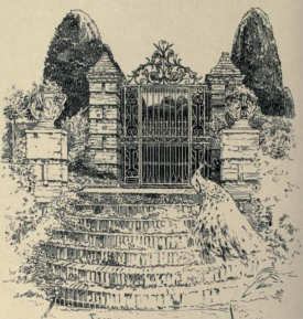 The Terrace Gates at Packwood from Manor Houses